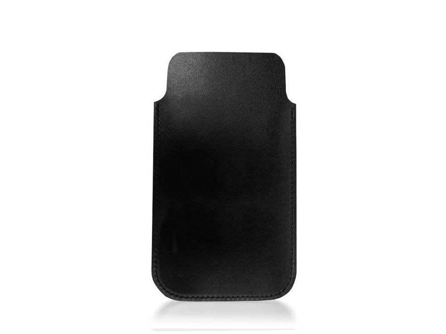 iPhone 5 Case in leather - Black