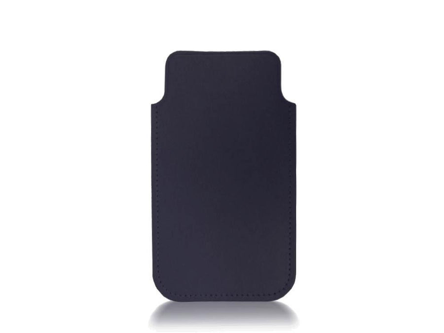 iPhone 5 Case in leather - Navy