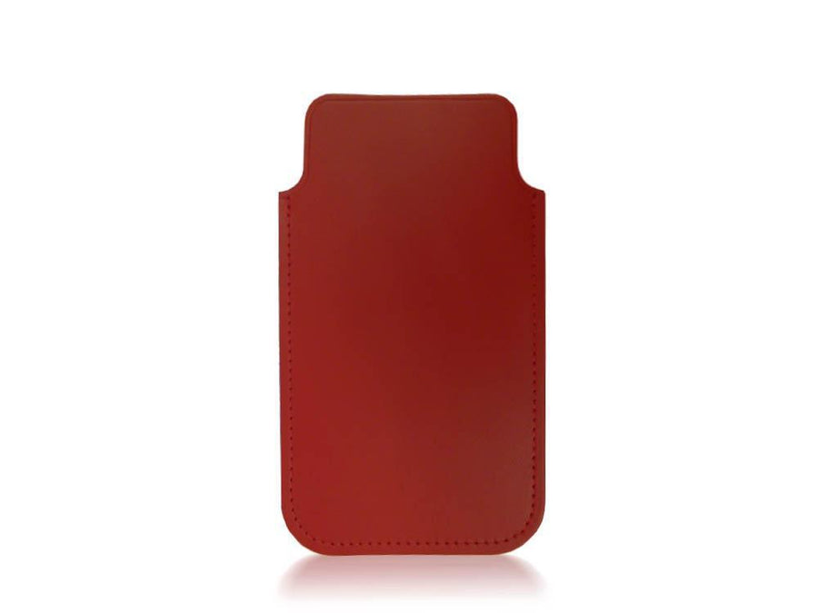 iPhone 5 Case in Leather - Red