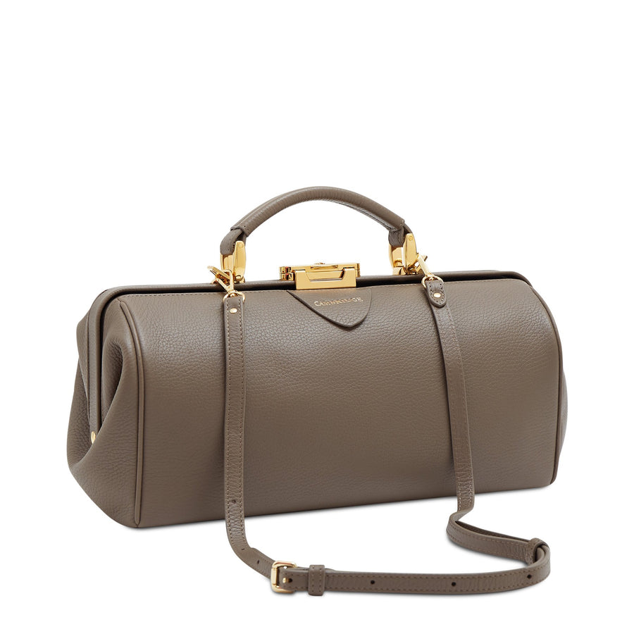 Birch Calf Grain Cambridge Satchel Leather Doctors Bag