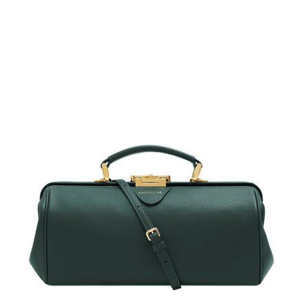Ivy Calf Grain Cambridge Satchel Leather Doctors Bag