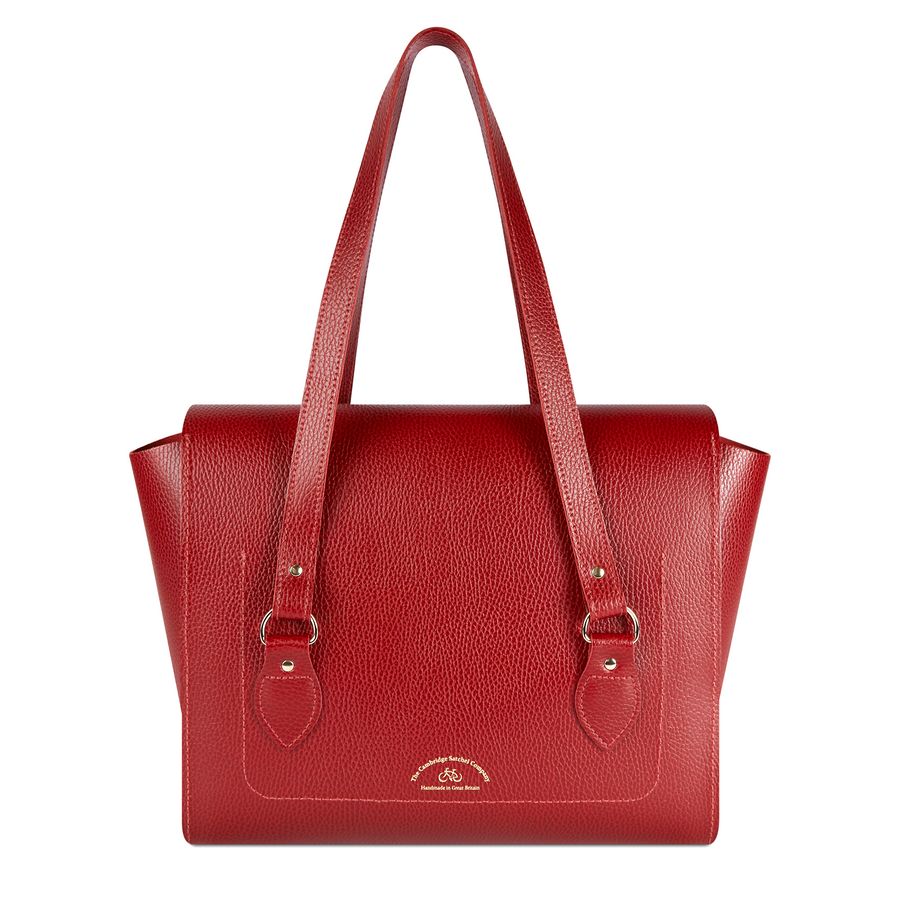 The Emily Tote - Red Celtic Grain