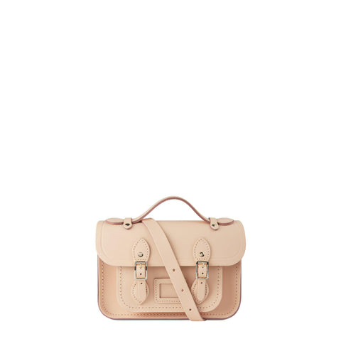Magnetic Mini Satchel in Leather - Sunkissed - Cambridge Satchel