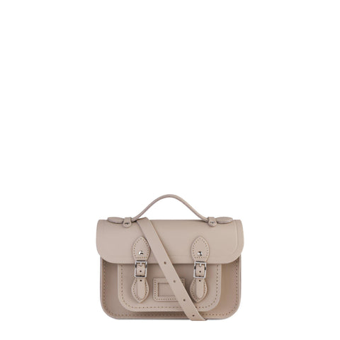 Magnetic Mini Satchel in Leather - Dusk Matte - Cambridge Satchel