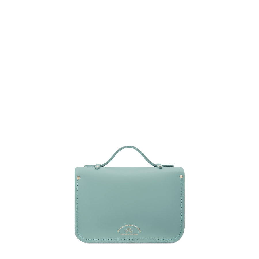Magnetic Mini Satchel in Leather - Brilliant Sage Matte | Cambridge Satchel