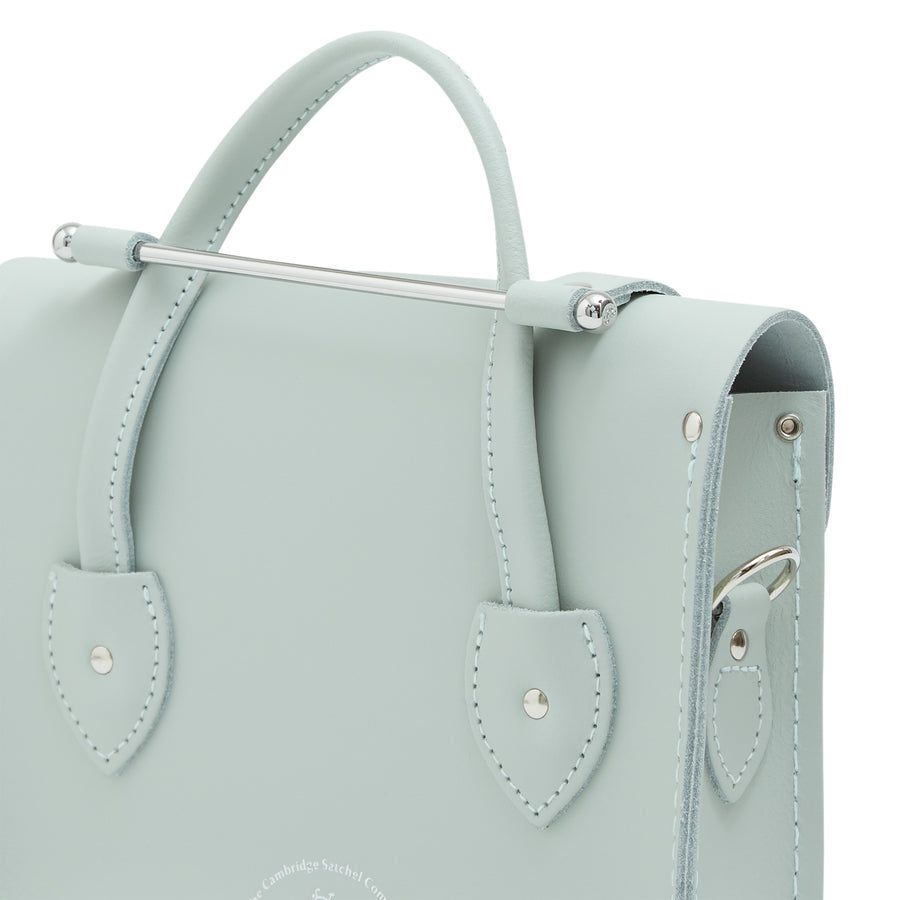 Melody Bag In Leather - Sea Foam Matte | Women's Handbag & Cross Body Bag