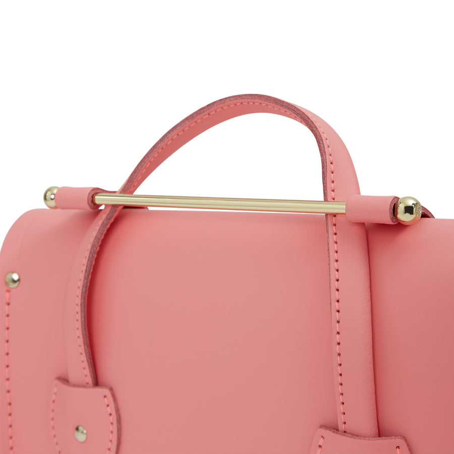 Melody Bag In Leather - Hot Rose Matte