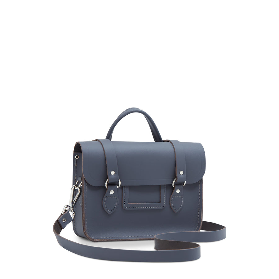 Melody Bag In Leather - Storm Matte | Women's Handbag & Cross Body Bag