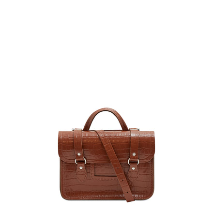 Brown Cambridge Satchel Women's Leather Cross Body Bag