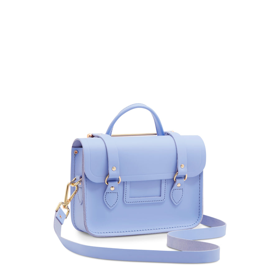 Blue Cambridge Satchel Women's Leather Cross Body Bag
