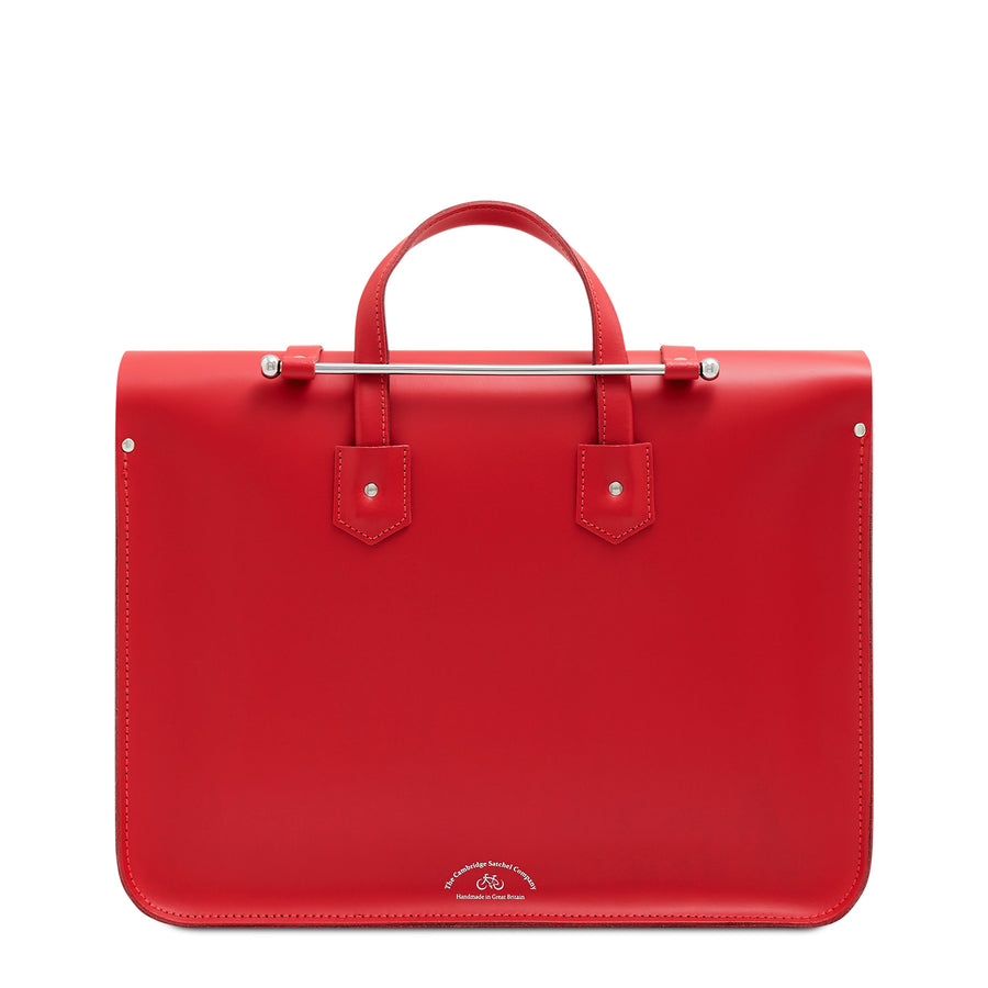 Music Case in Leather - Red Berry