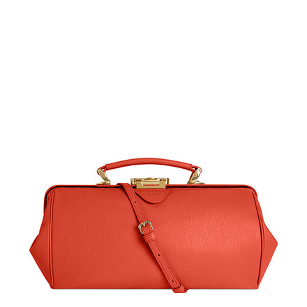Miami Sunset Calf Grain Cambridge Satchel Leather Doctors Bag