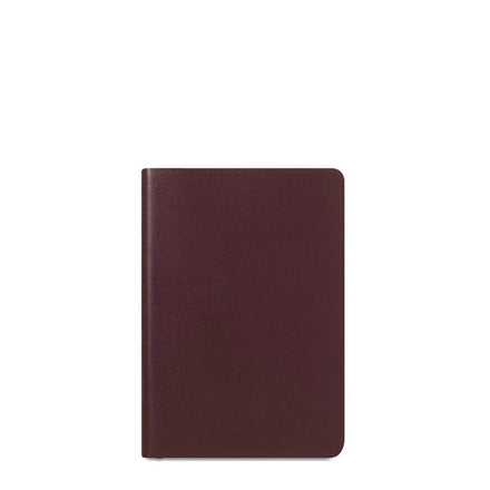 Oxblood Cambridge Satchel Leather A5 Notebook