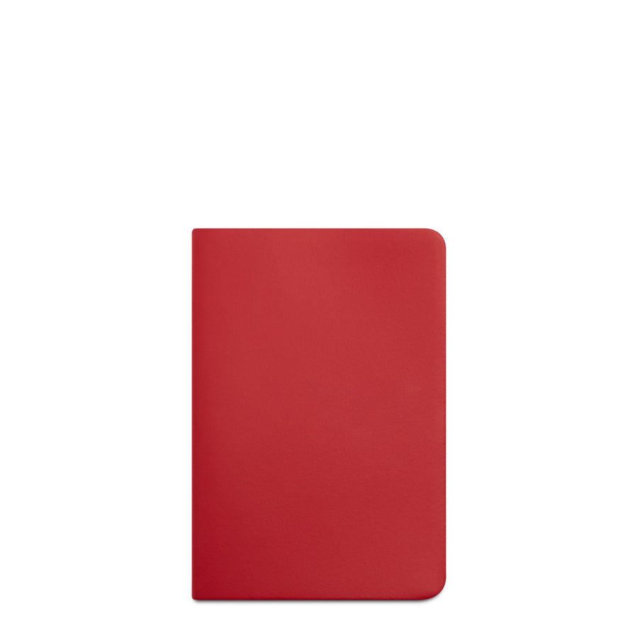 Red Cambridge Satchel Leather A6 Notebook