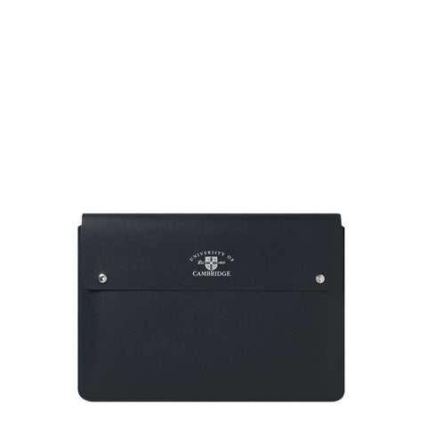 The University of Cambridge 13 Inch Laptop Cover - Navy Saffiano