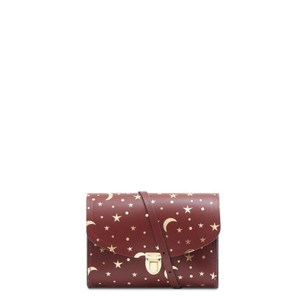 Starstruck Oxblood Cambridge Satchel Leather Cross Body & Clutch Bag