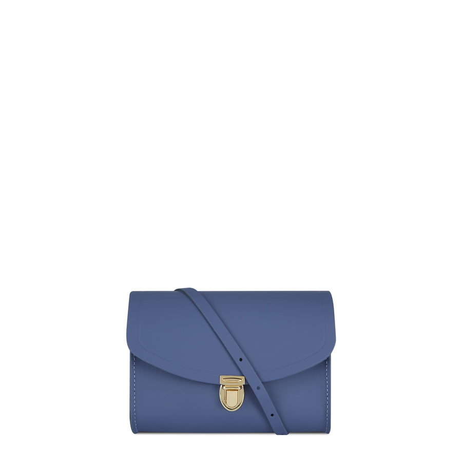 Blue Cambridge Satchel Leather Cross Body & Clutch Bag
