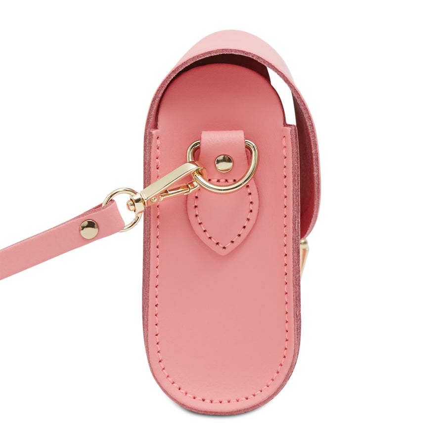 Push Lock in Leather - Hot Rose Matte