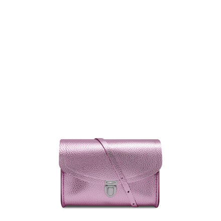 Lilac Cambridge Satchel Leather Cross Body & Clutch Bag
