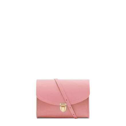 Pink Cambridge Satchel Leather Cross Body & Clutch Bag