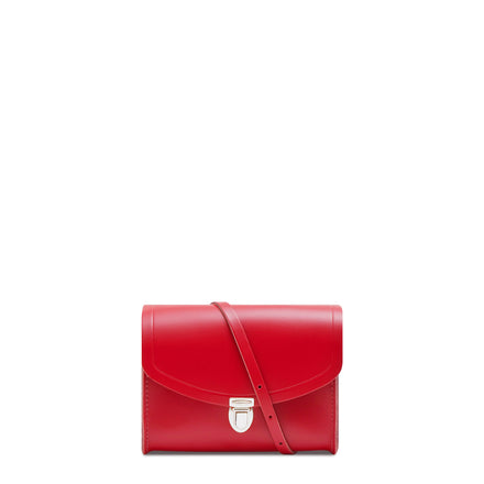 Push Lock in Leather - Red Berry