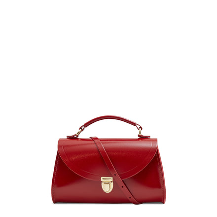 Mini Poppy Bag in Leather - Glamour