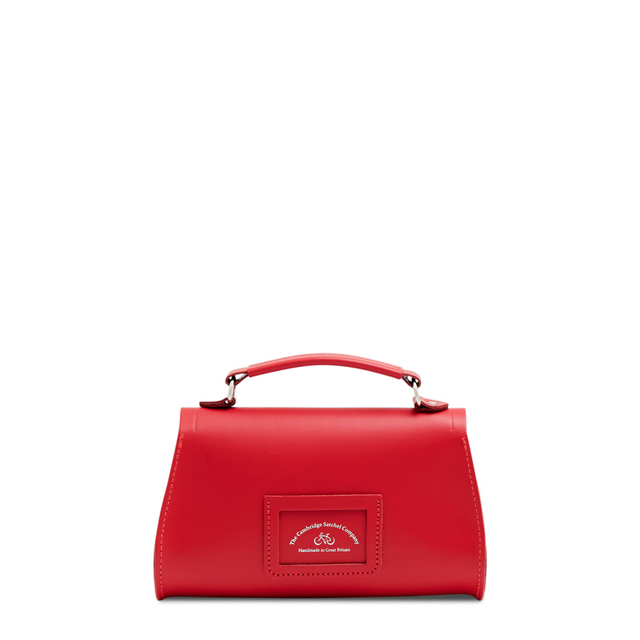 Red Cambridge Satchel Women's Leather Mini Poppy Handbag