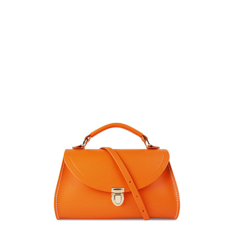 Mini Poppy Bag in Leather - Sunset & Clay - Cambridge Satchel