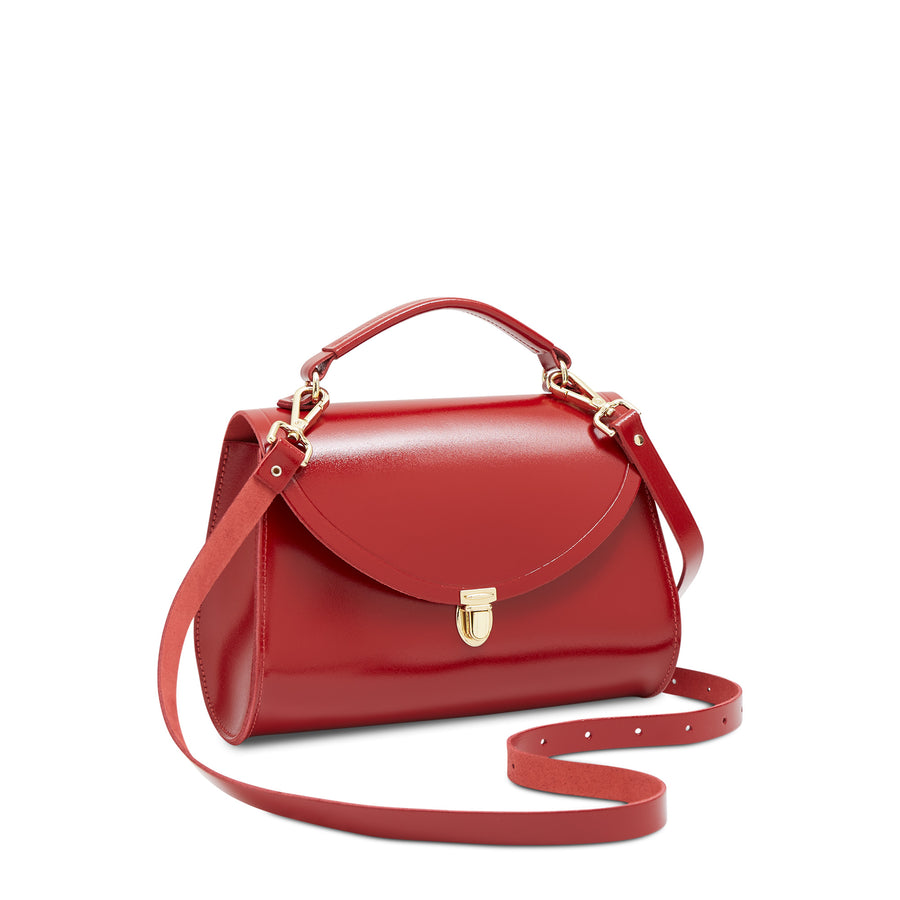 Poppy Bag in Leather - Glamour