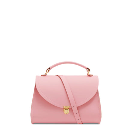 Pink Cambridge Satchel Women's Leather Poppy Cross Body Handbag