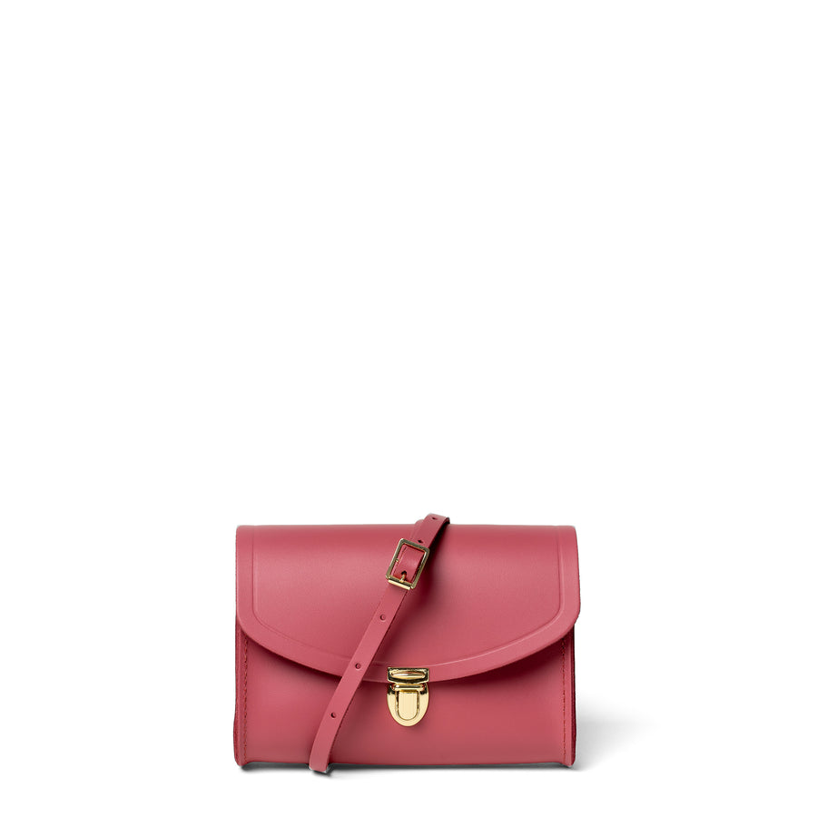 Push Lock in Leather - Peony Blush