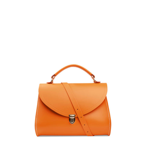 Poppy Bag in Leather - Sunset & Clay | Cambridge Satchel