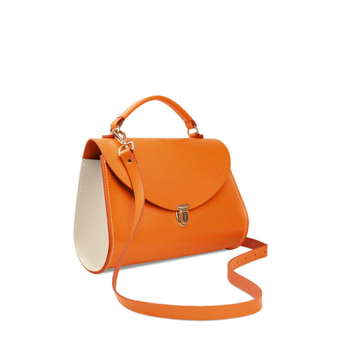 564b3fa8cb Poppy Bag in Leather - Sunset   Clay
