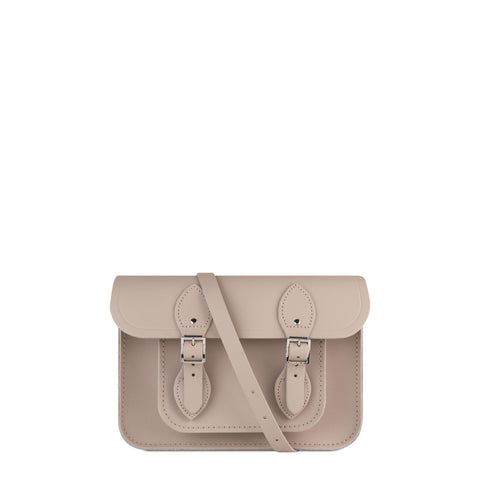11 inch Magnetic Satchel in Leather - Dusk Matte