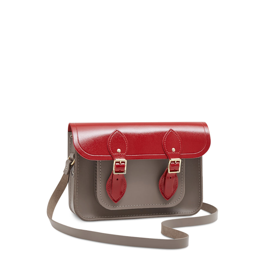 Red Leather The Cambridge Satchel Company Bag