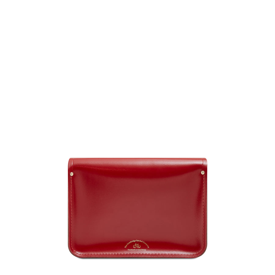 11 inch Magnetic Satchel in Leather - Glamour & Mink