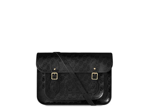 "The Rolling Stones 13"" Magnetic Satchel - Black"
