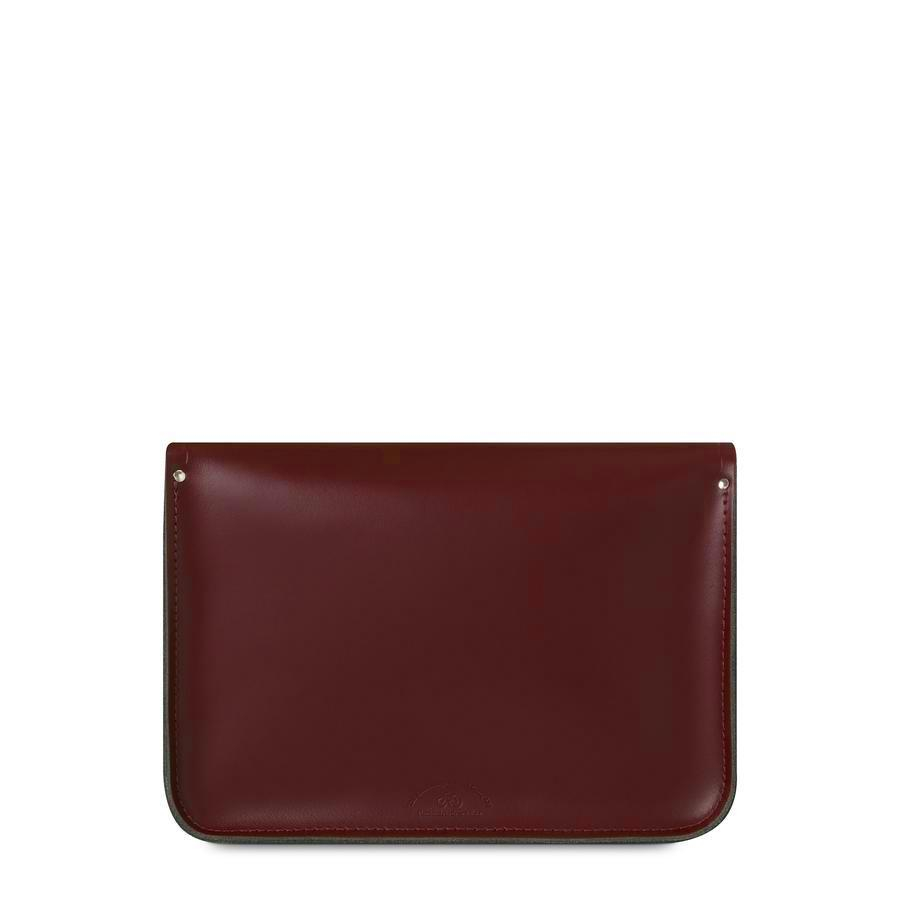 13 Inch Classic Satchel in Leather - Oxblood | Cambridge Satchel