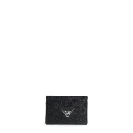 Year of the Ox Exclusive: Card Case in Saffiano Leather - Navy