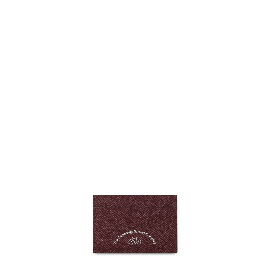 Oxblood The Cambridge Satchel Company Leather Card Holder Case