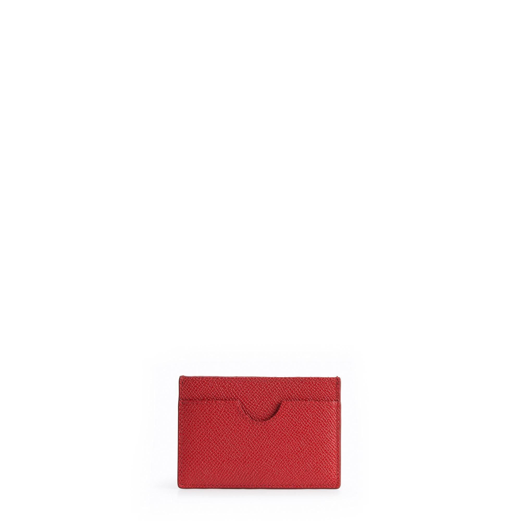 Card holders leather accessories the cambridge satchel company the card case red saffiano product reheart Choice Image