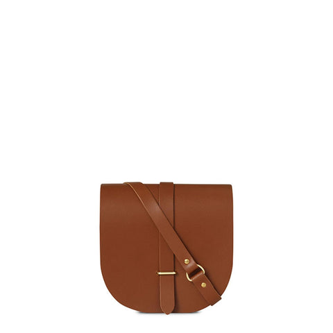 Saddle Bag in Leather - Vintage