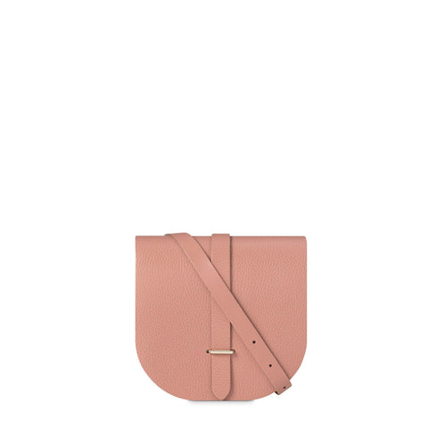 Saddle Bag in Leather- Terracotta Grain