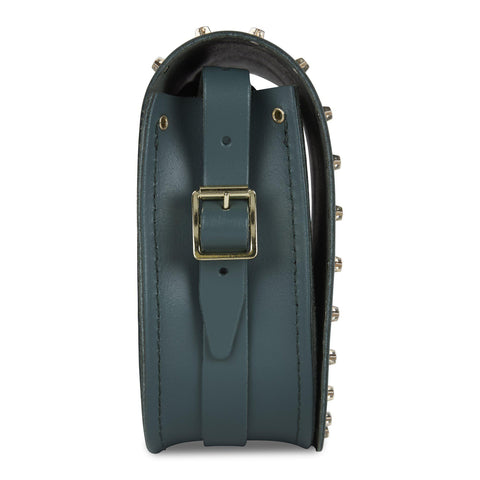 Saddle Bag in Leather - Fir & Star Studs