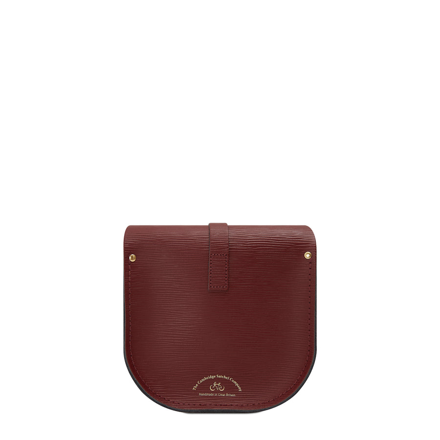 Saddle Bag in Leather - Oxblood 1914 Grain | Cambridge Satchel