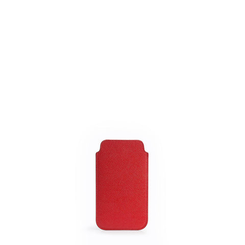 Saffiano iPhone 6 Case - Red Saffiano