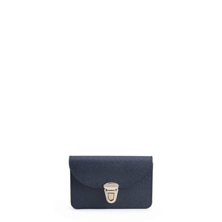 Navy Small Push Lock Purse Cambridge Satchel