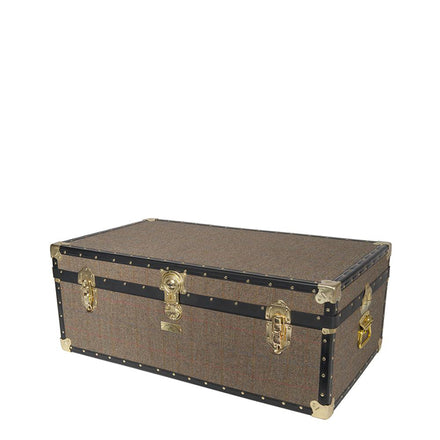 Steamer Trunk - Harris Tweed