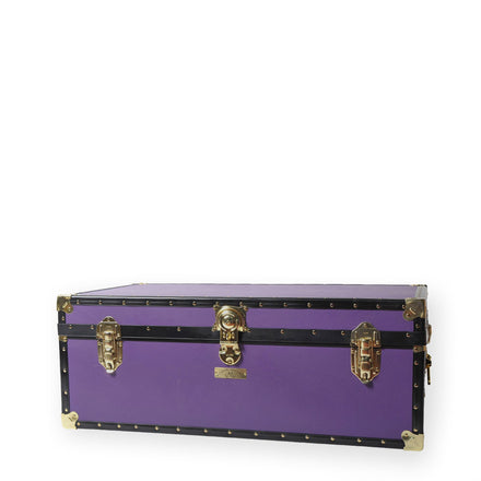 Steamer Trunk - Purple