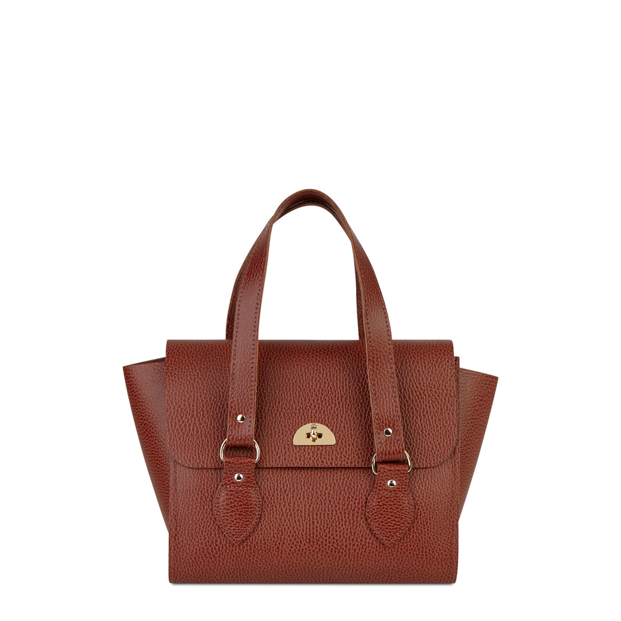 The Small Emily Tote - Bay Celtic Grain - Cambridge Satchel